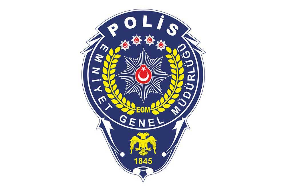 polis logosu vektörel çizim indir