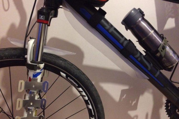 Kendi bisiklet çamurluğunu yap