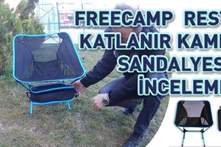 Freecamp Rest Katlanır Kamp Sandalyesi İnceleme