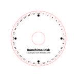 Bileklik yapım aparatı çizimi ( Kumihimo disk çizimi )