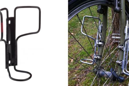 Bisiklet ön maşa kafes çizimi (Salsa Kafesi Çizimi)